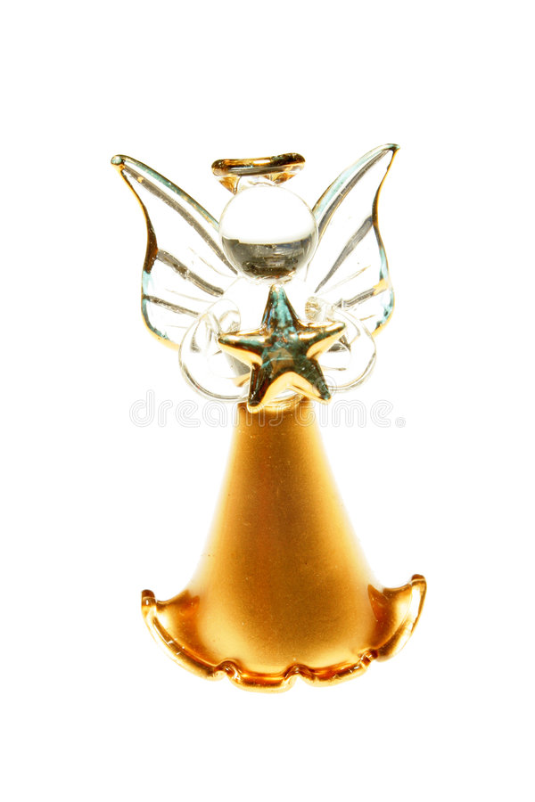 Ornamento di angelo immagine stock