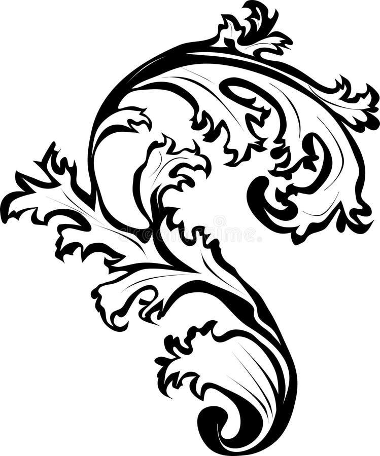 Ornamento di disegno illustrazione vettoriale