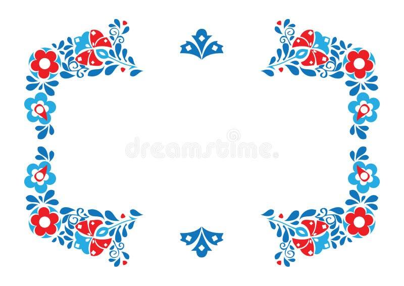Ornamento di folclore immagine stock
