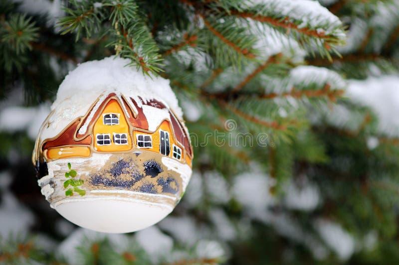 Ornamento 2 di Natale immagini stock libere da diritti