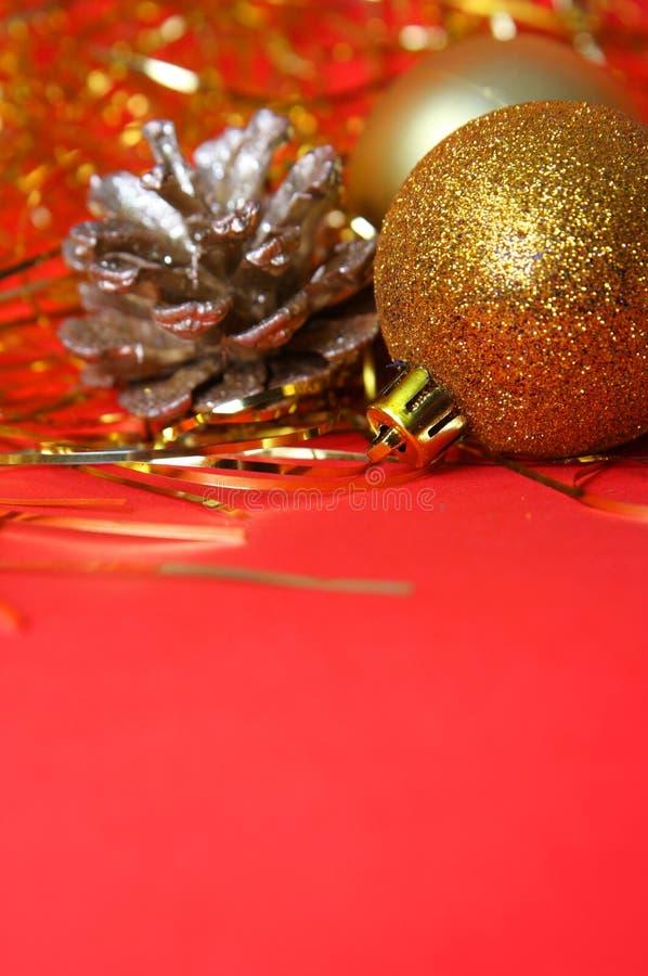 Download Ornamento di natale fotografia stock. Immagine di metallico - 3894292