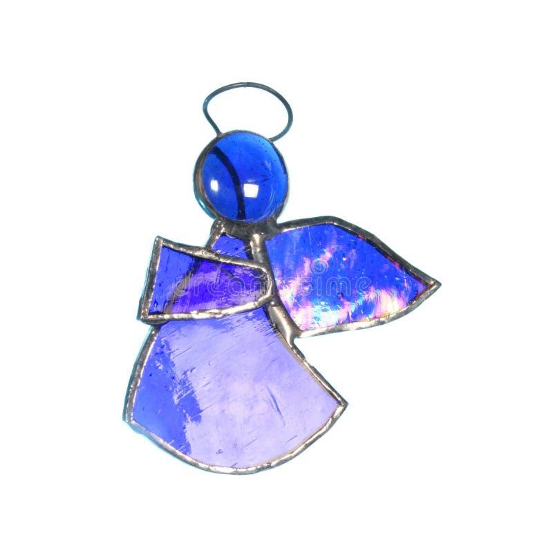 Ornamento di vetro al piombo di angelo immagine stock libera da diritti