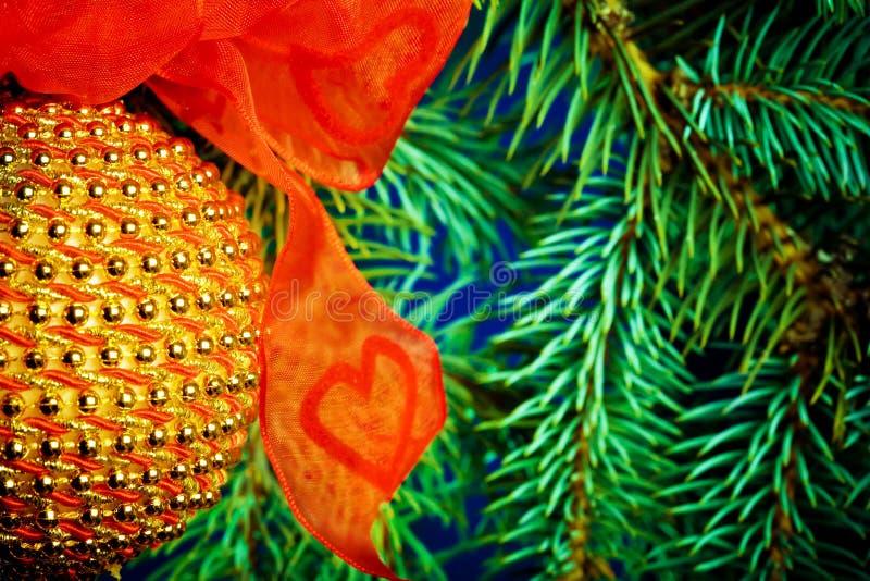 Ornamento do Natal foto de stock royalty free
