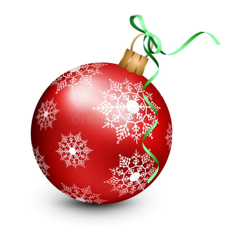 Ornamento do Natal do vetor ilustração royalty free