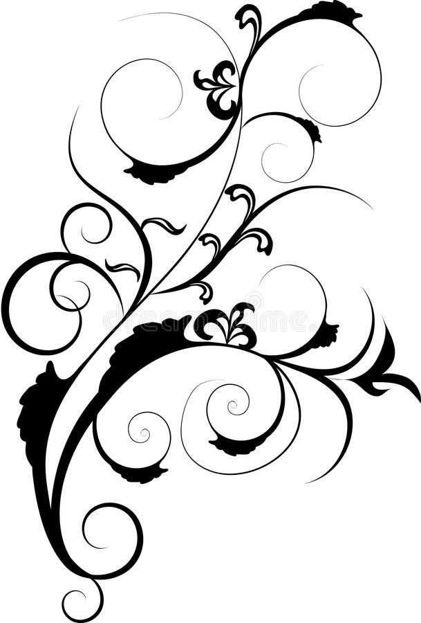 Ornamento do projeto ilustração do vetor