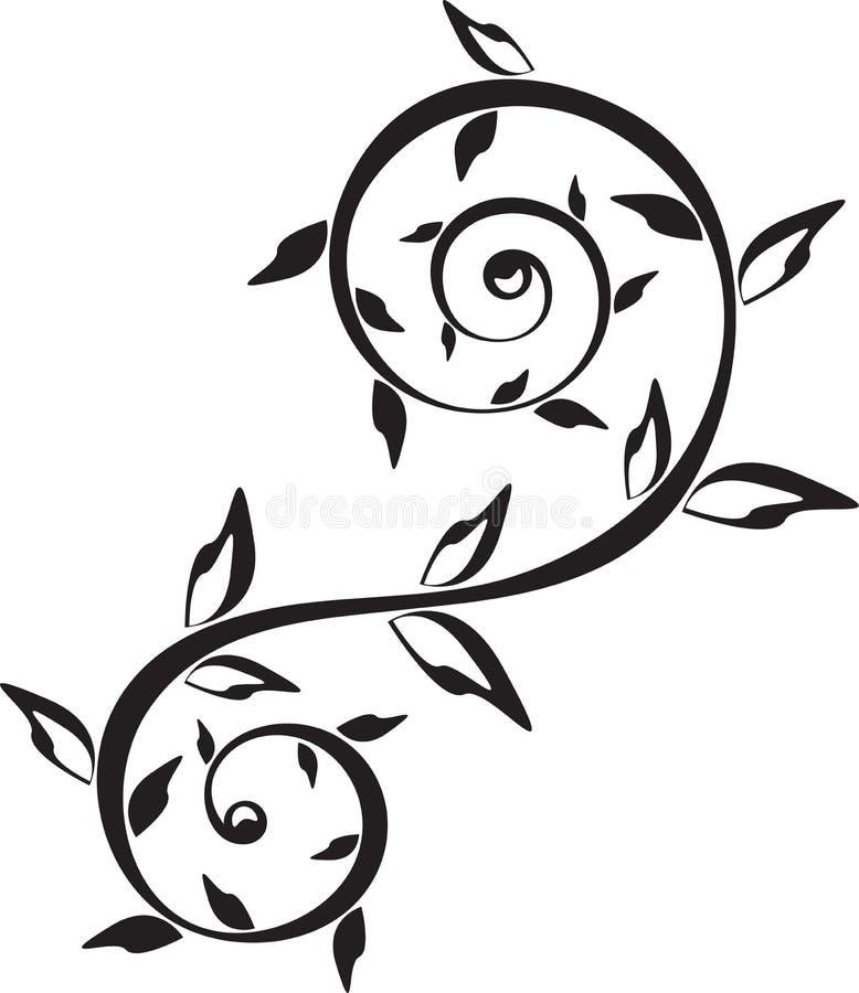 Ornamento do tatuagem imagens de stock royalty free