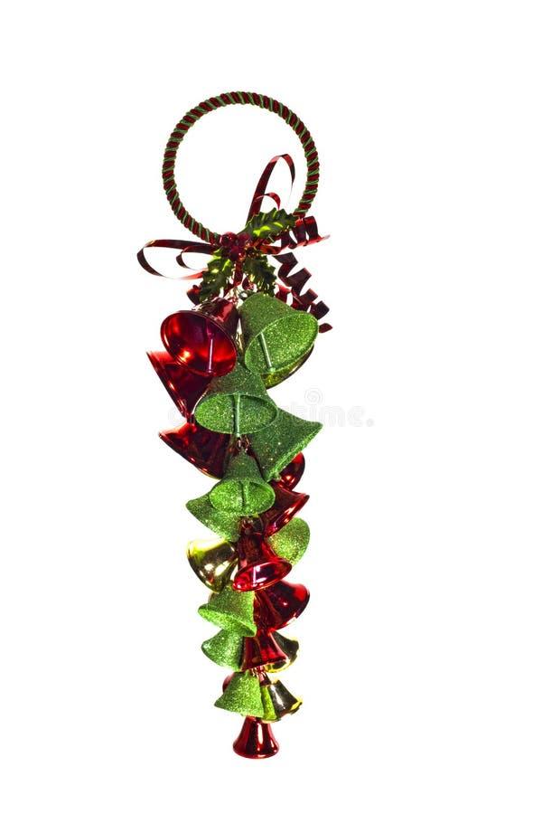 Ornamento dos sinos de Natal   imagens de stock