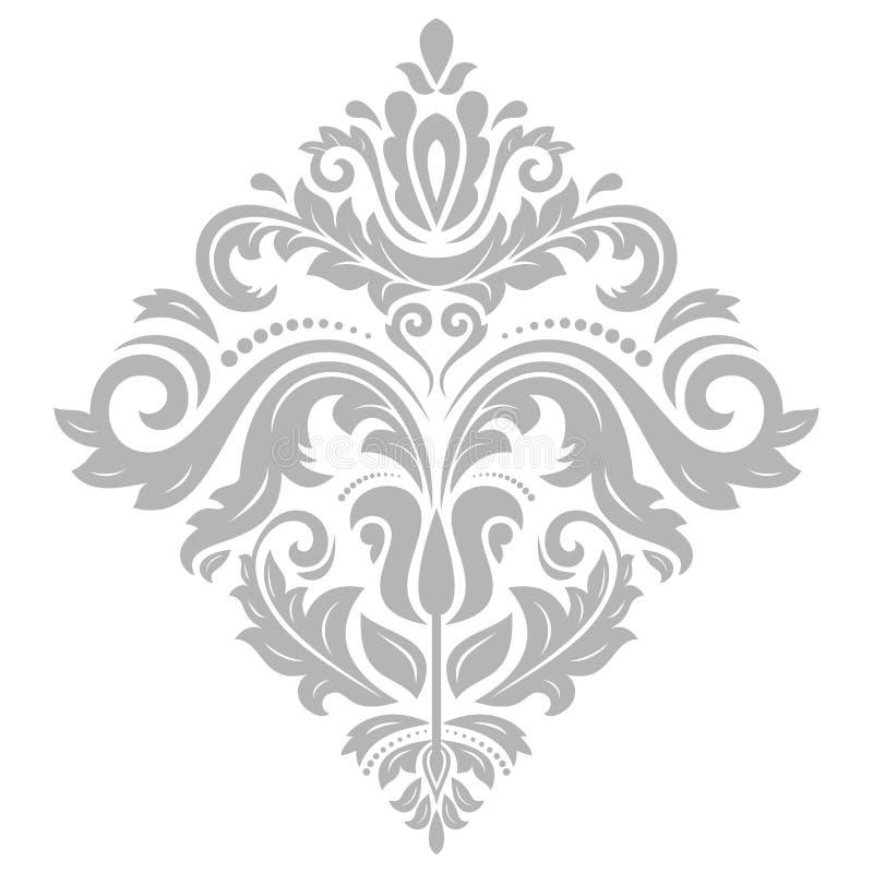 Ornamento elegante di vettore nello stile di Barogue illustrazione di stock