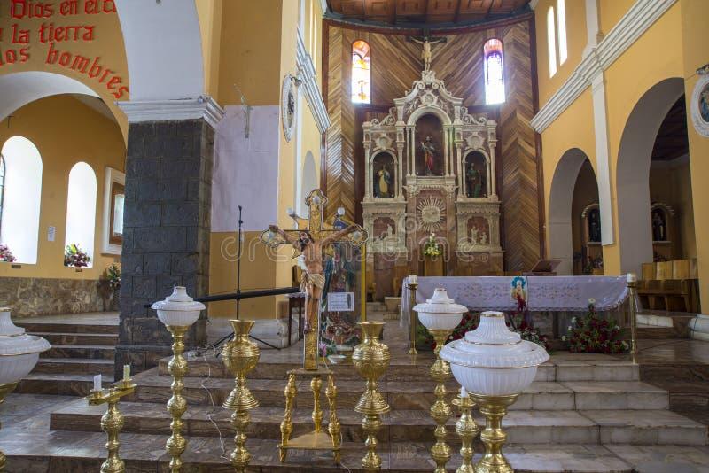 Ornamento em uma catedral foto de stock