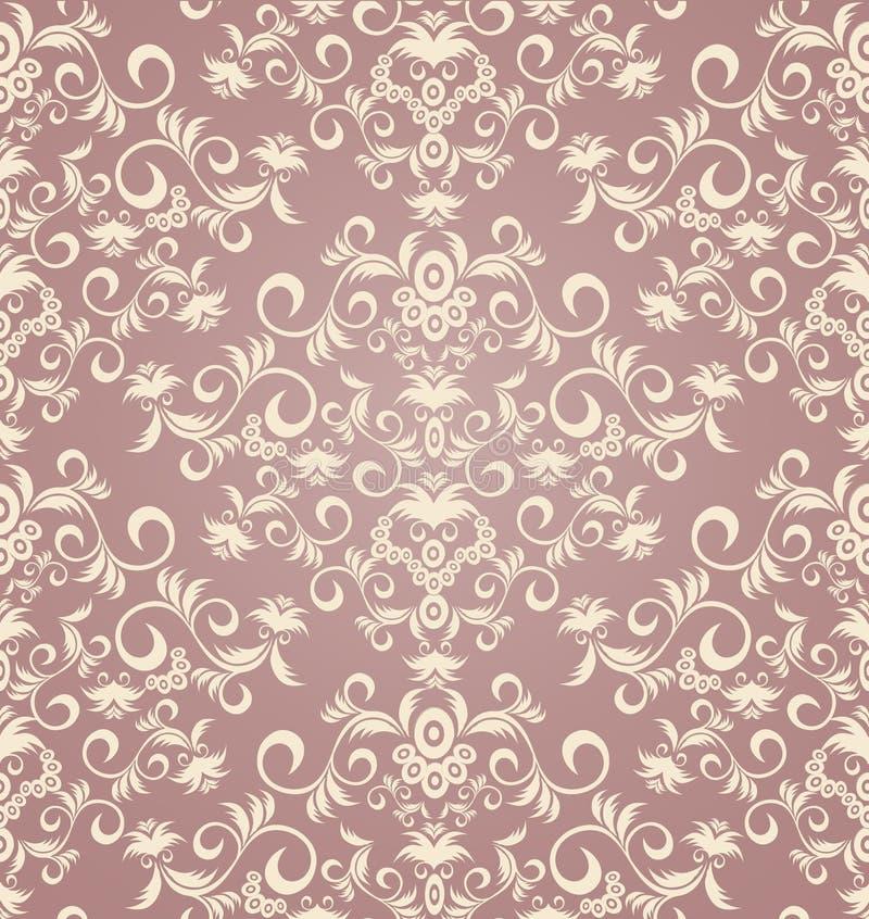 Ornamento floral inconsútil decorativo libre illustration