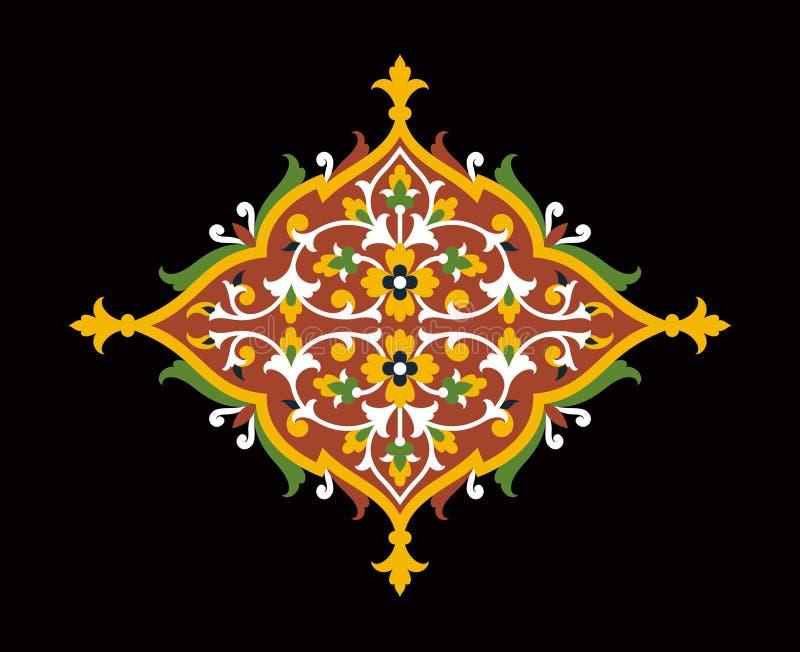 Download Ornamento Floral Tres De Catania Ilustración del Vector - Ilustración de pintura, tradicional: 64207372