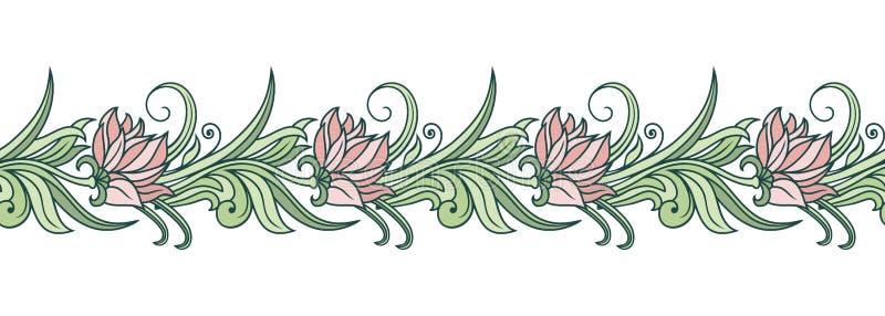 Ornamento floreale di vettore royalty illustrazione gratis