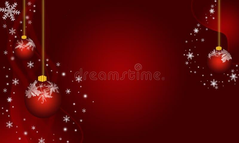 Ornamento geados Natal ilustração royalty free