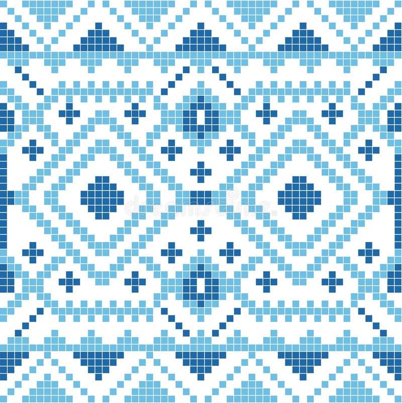 Ornamento geométrico étnico pattrn stock de ilustración