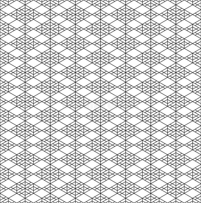 Ornamento geom?trico japon?s tradicional incons?til Rebecca 36 libre illustration