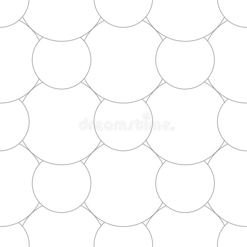 Ornamento geometrico Modello senza cuciture grigio chiaro royalty illustrazione gratis