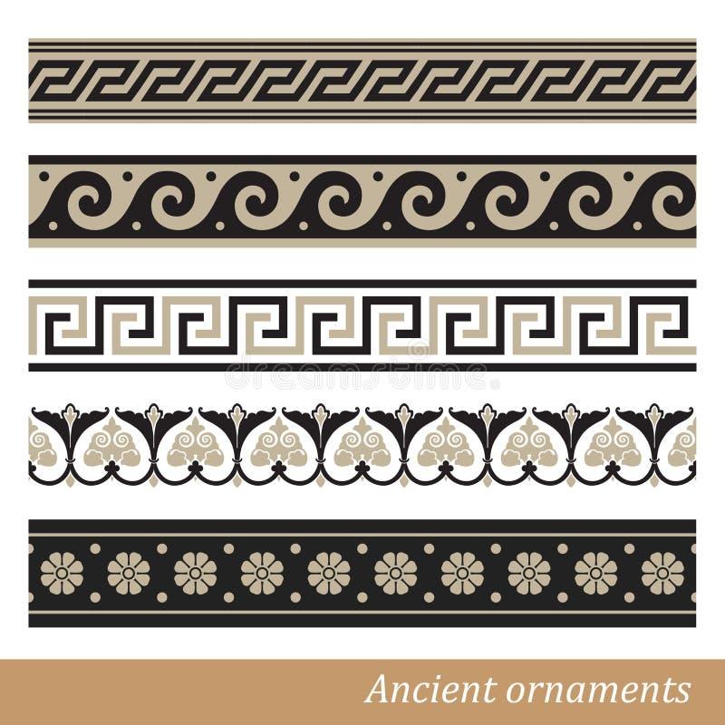 Ornamento greco royalty illustrazione gratis
