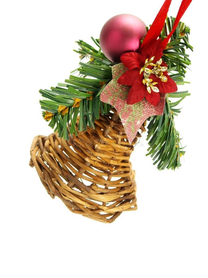Ornamento hecho a mano colgante de la Navidad imagen de archivo