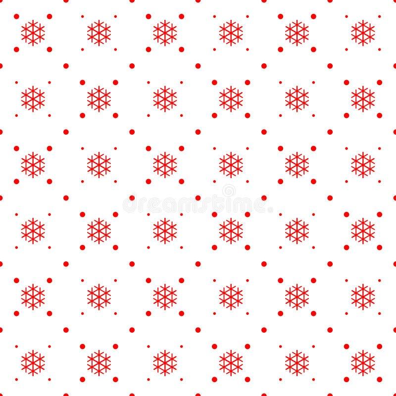 Ornamento inconsútil de la Navidad stock de ilustración