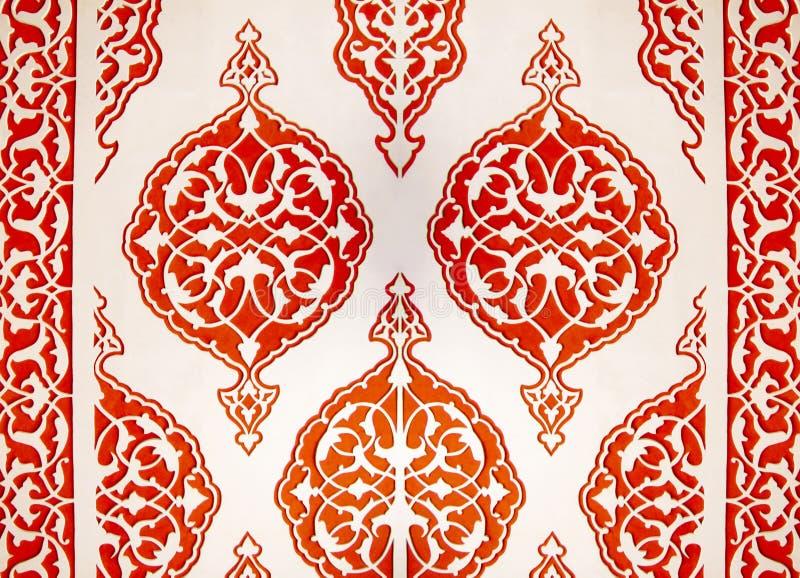 Ornamento islamico fotografia stock