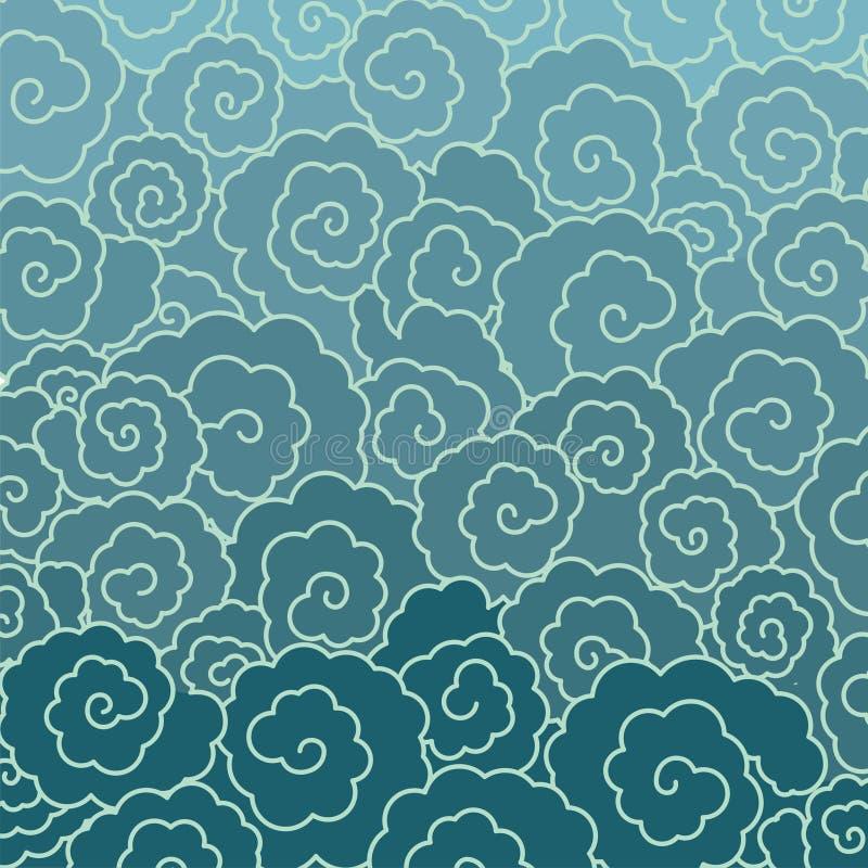 Ornamento japonés libre illustration