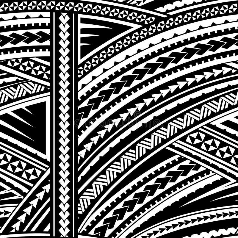 Ornamento maori di stile royalty illustrazione gratis