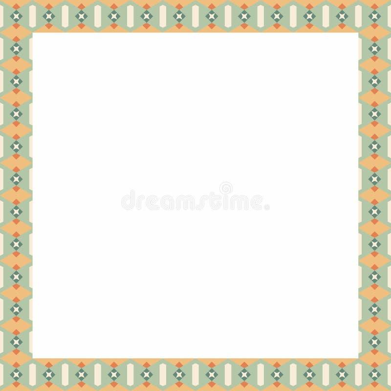 Ornamento mediterrâneo da porta da placa da apresentação feito por portais coloridos fotos de stock royalty free