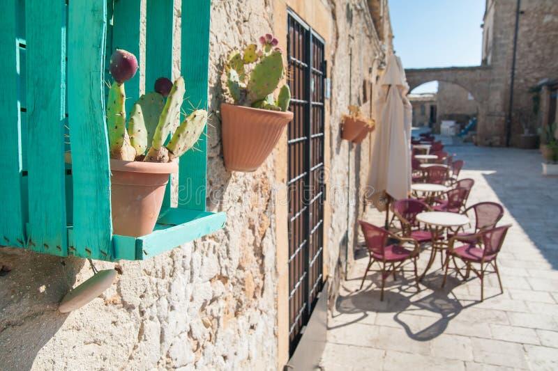 Ornamento mediterrâneos fotografia de stock