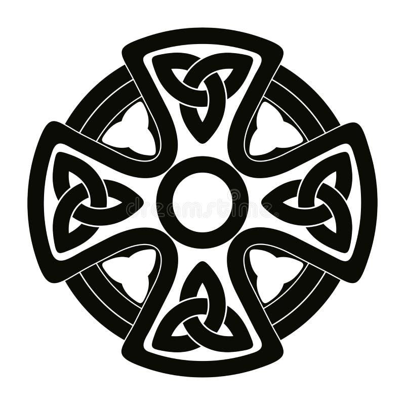 Ornamento nacionais celtas ilustração do vetor