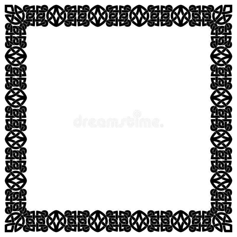 Ornamento nacionais celtas ilustração stock