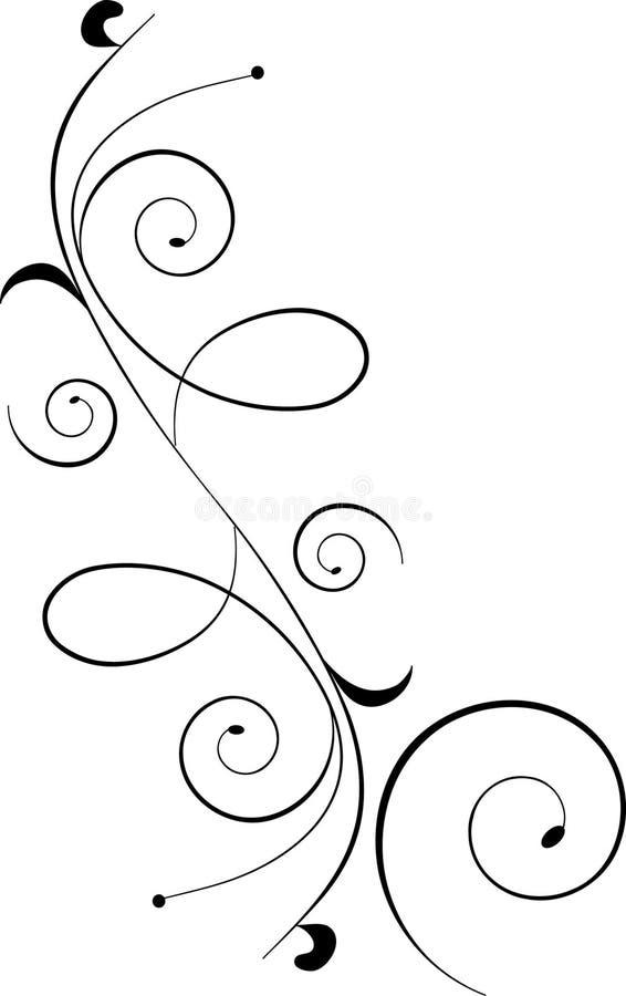 Download Ornamento nero di disegno illustrazione vettoriale. Illustrazione di ornamento - 7321172