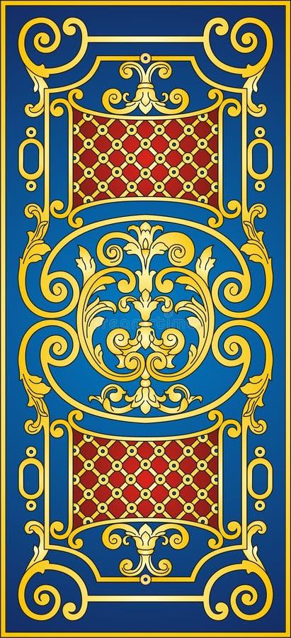 Ornamento oriental ilustração stock