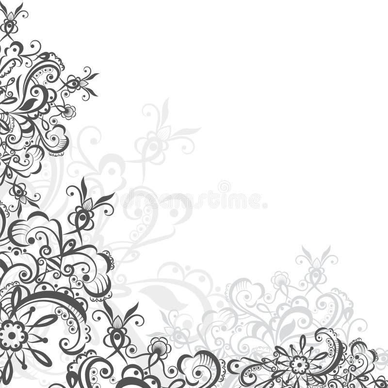 Ornamento oriental da fantasia ilustração stock