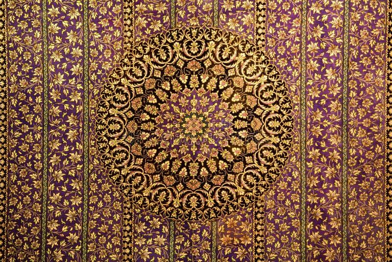 Ornamento oriental del modelo para la alfombra fotografía de archivo