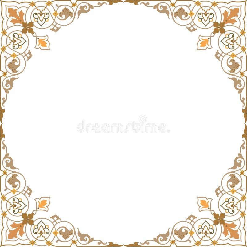 Ornamento orientale royalty illustrazione gratis