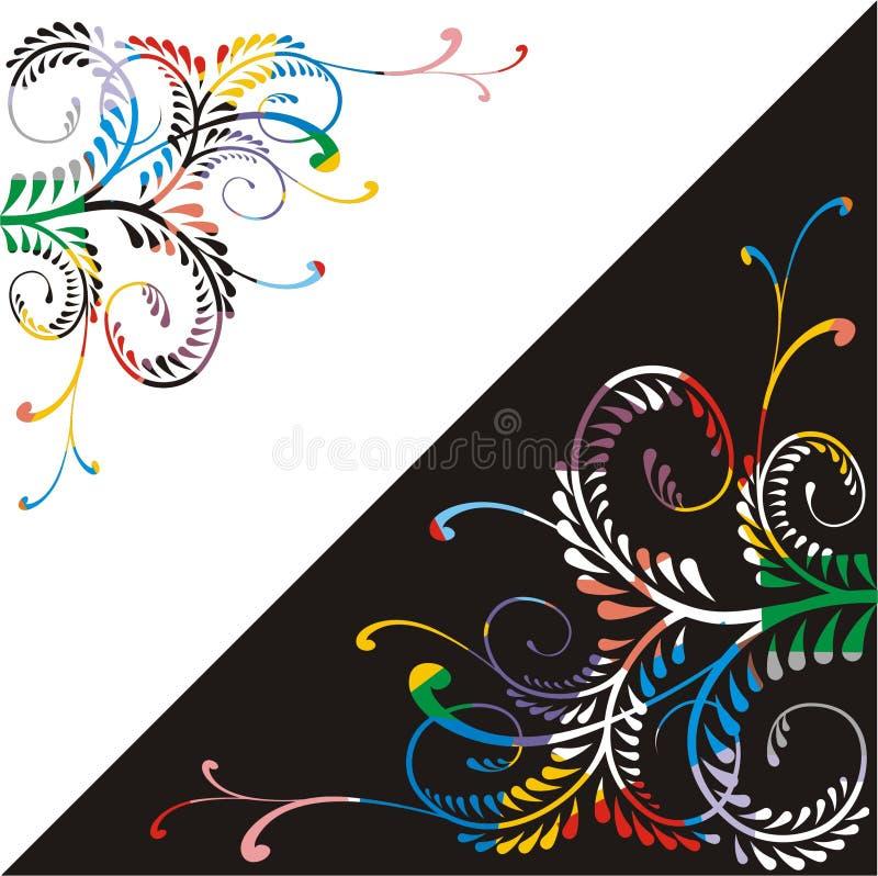 Ornamento ostentoso del carnaval stock de ilustración