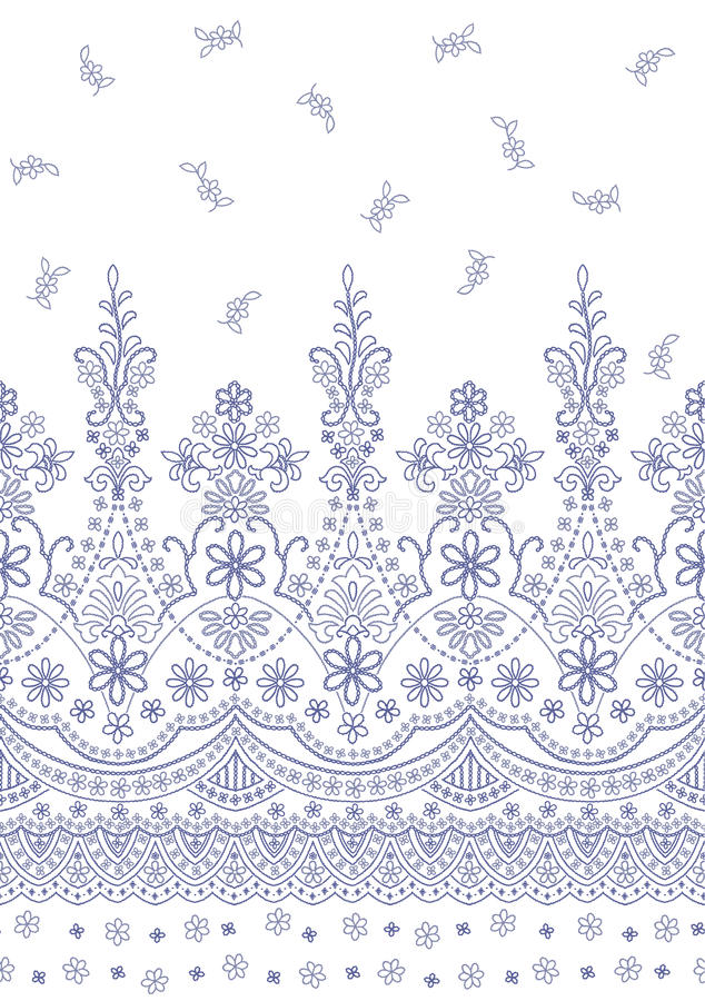 Ornamento pattern libre illustration