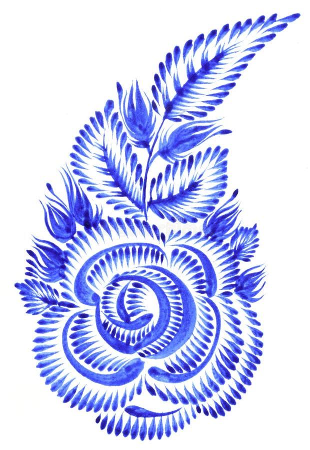 Ornamento piega illustrazione vettoriale