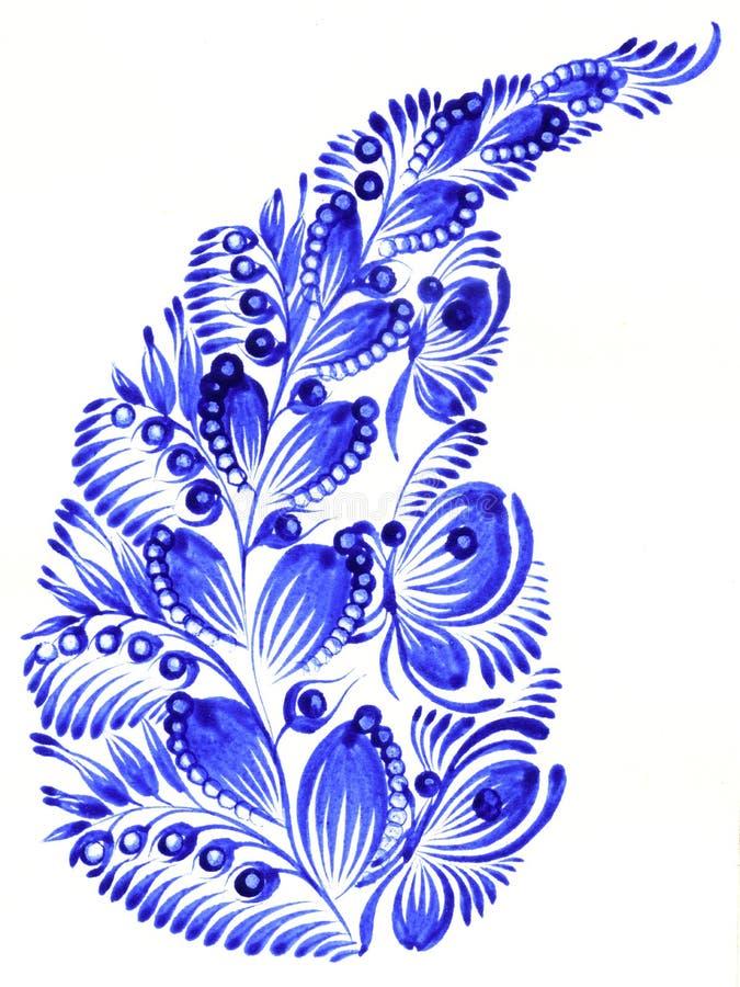 Ornamento piega royalty illustrazione gratis