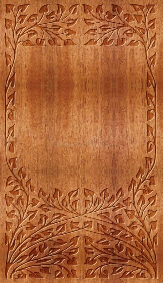 Ornamento scolpito illustrazione di stock