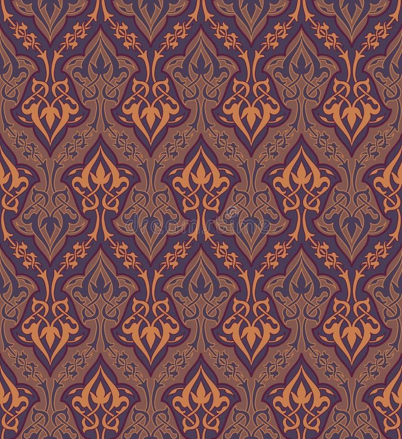 Ornamento sem emenda ilustração royalty free