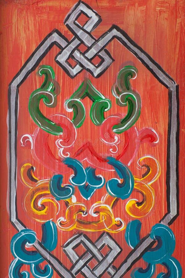 Ornamento sul legno immagine stock libera da diritti