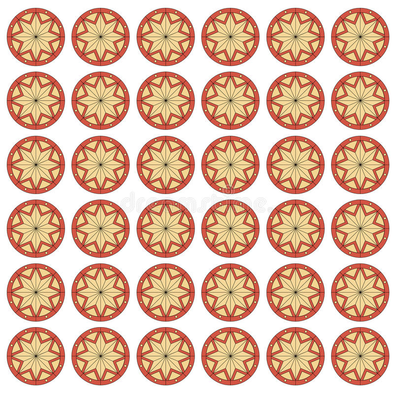 Download Ornamento, Teste Padrão Sem Emenda Do Vetor. Ilustração do Vetor - Ilustração de flor, textile: 10054826