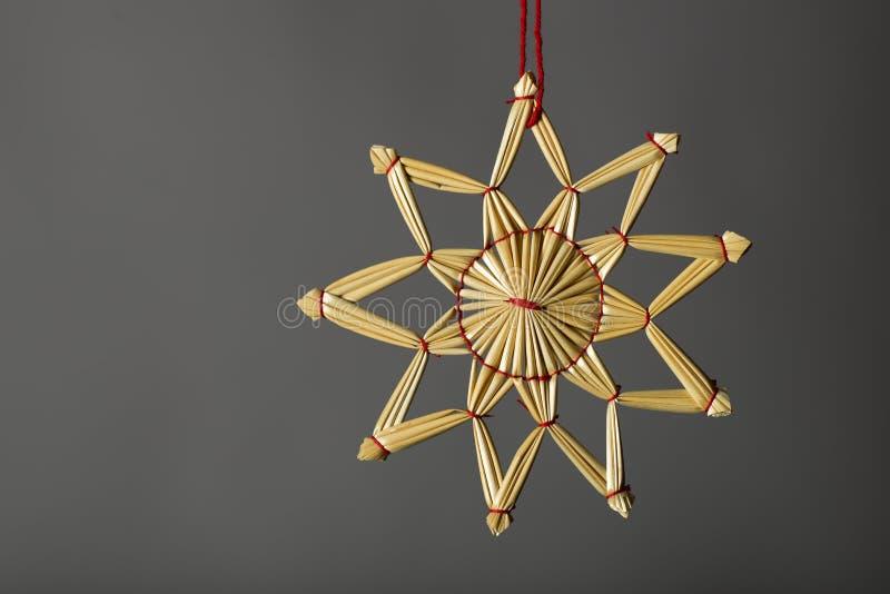 Ornamento tradicional do Natal foto de stock royalty free