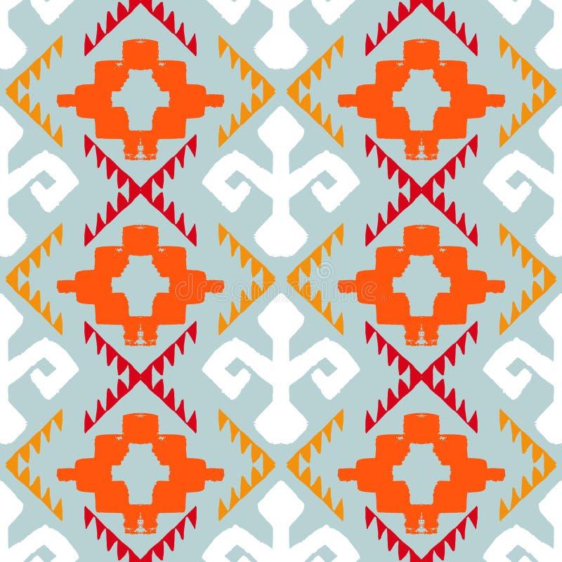 Ornamento tribal de Navajo ilustración del vector
