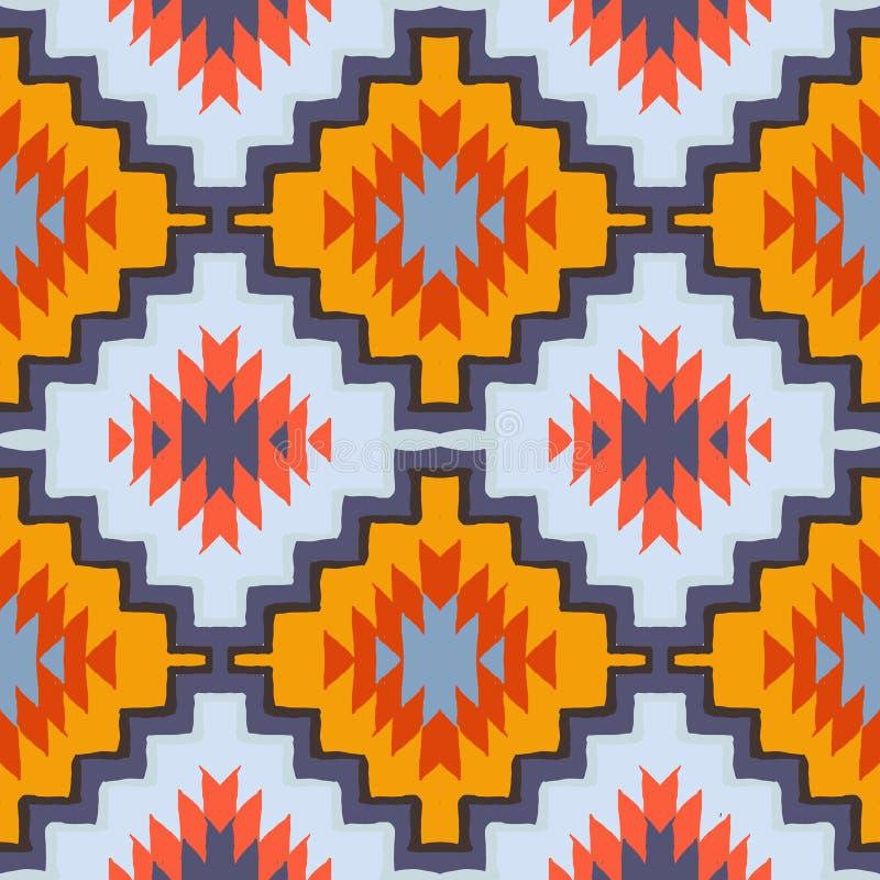 Ornamento tribale navajo di vettore illustrazione vettoriale