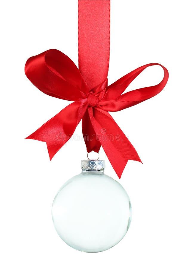Ornamento vazio do Natal imagens de stock