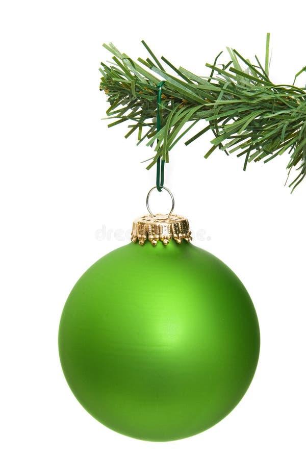 Ornamento verde imagem de stock