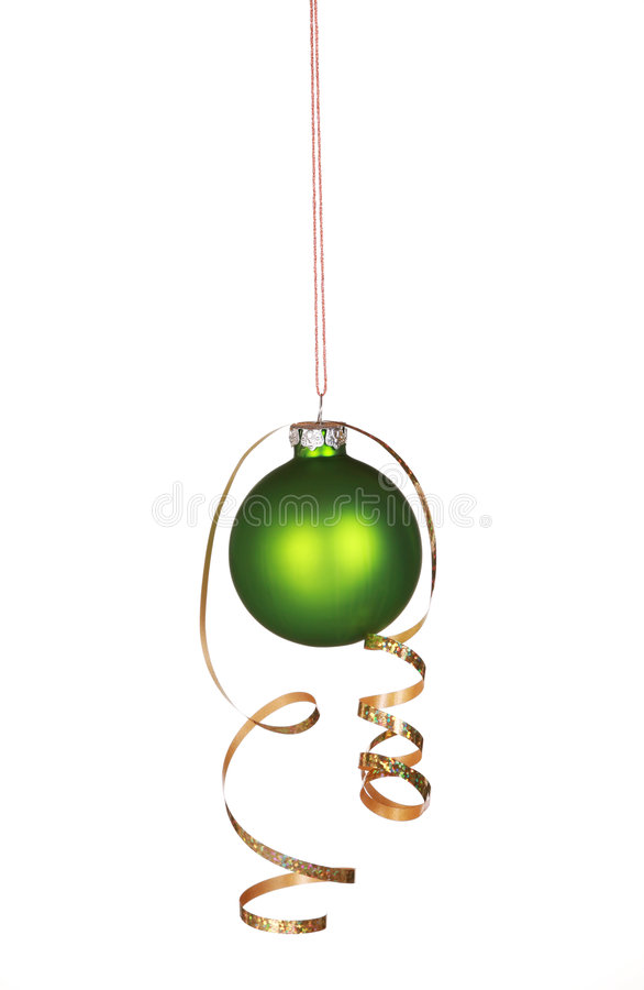 Ornamento verde bonito imagens de stock