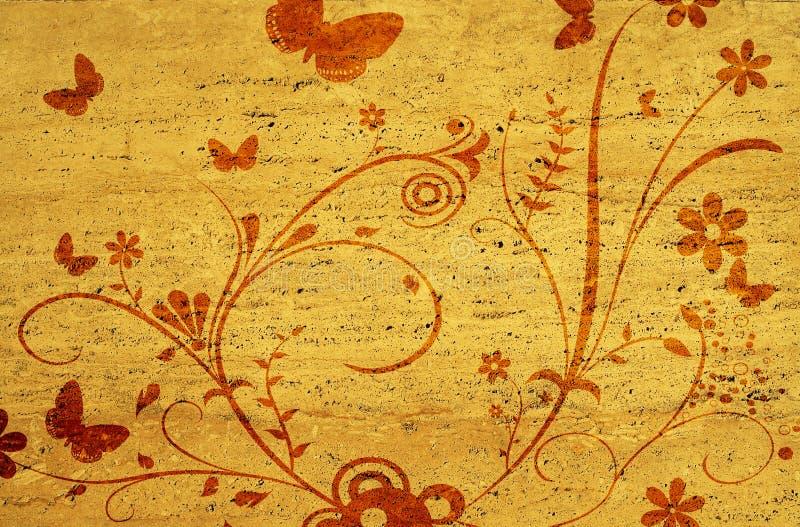 ornamento viejo ilustración del vector